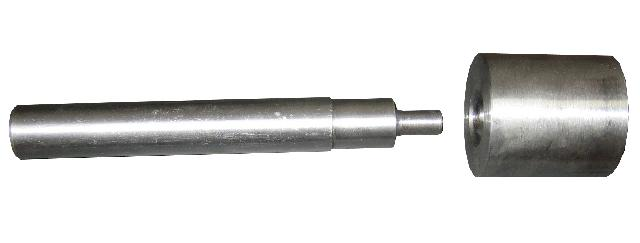 Инструмент 10 мм для установки люверсов на баннеры Vektor, ручной Компания ForOffice 1486.000