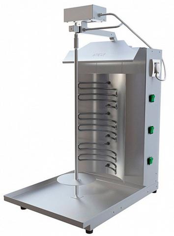 Шаурма электрическая Atesy 3М с автоматическим вращением вертела