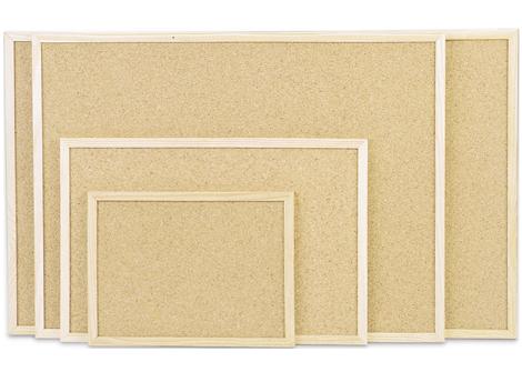 Пробковая доска Magnetoplan 80 x 60 см с деревянной рамкой (121923)