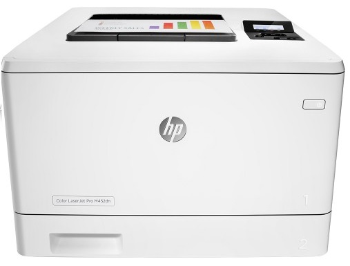 HP LaserJet Pro M452dn (CF389A) принтер hp color laserjet pro m452dn лазерный цвет белый [cf389a]