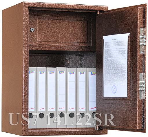 Металлический шкаф_Bestsafe US7 14 L22SR Компания ForOffice 6598.000