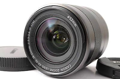 Canon EF-M 18-55mm f/3.5-5.6 IS STM canon ef m 18 55 f3 5 5 6 is stm