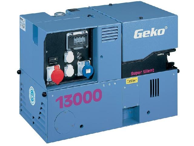 Бензиновый генератор_Geko 13000 ED-S/SEBA SS