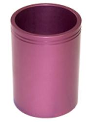 Розовый металлический вкладыш для пластиковой кружки