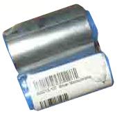 Монохромная серебряная лента   800015-107