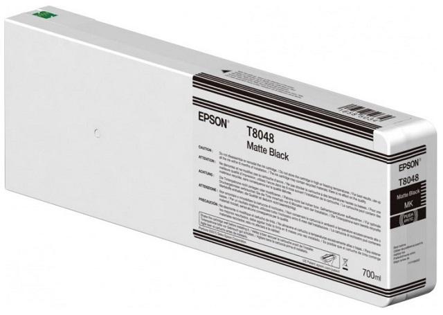T8048 Matte Black 700 мл (C13T804800) принтер epson surecolor sc p9000 std c11ce40301a0