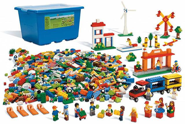 Городская жизнь Lego
