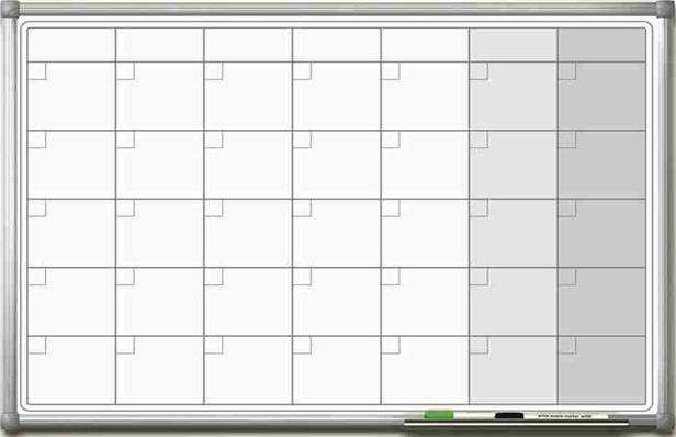 Магнитно-маркерная доска GBG SMP 60x90