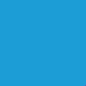 Пленка для термопереноса на ткань   70 синяя 408
