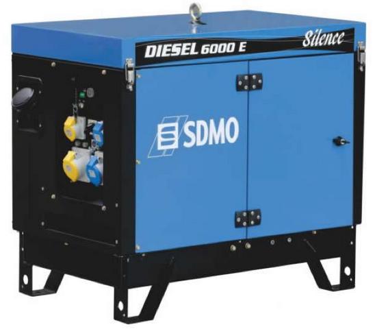 Дизельный генератор SDMO Diesel 6000 E Silence
