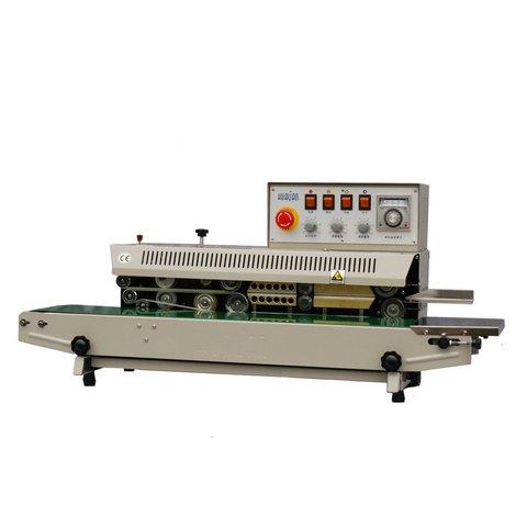 Роликовый запайщик с датой HL FRM-980I (нерж.)