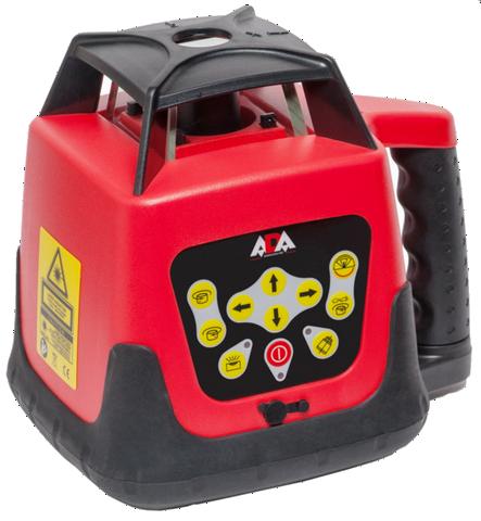 Ротационный лазерный нивелир_ADA Rotary 500 HV Servo