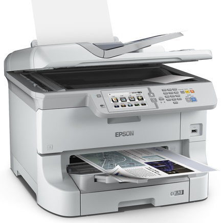 Epson WorkForce Pro WF-8590DWF (C11CD45301) принтер струйный epson l810 black