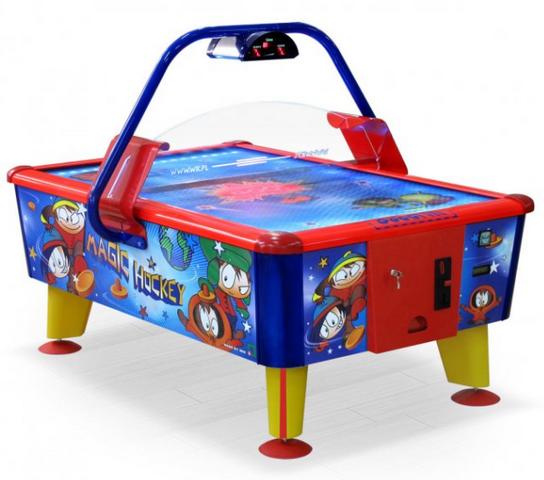 Игровой стол Аэрохоккей Wik Magic (жетоноприемник)