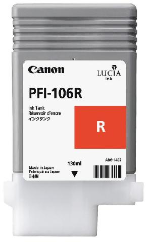 Картридж Canon Red PFI-106R (красный)