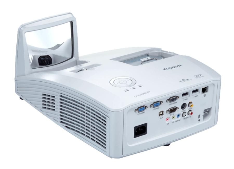 LV-WX300UST проектор canon lv wx300ust dlp 3000lm