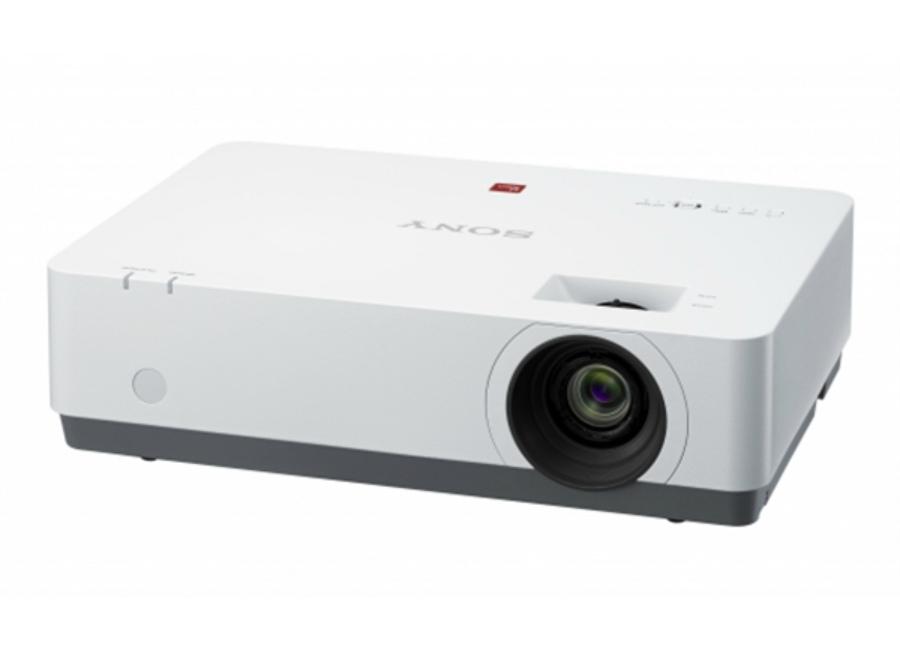 VPL-EX455 sony vpl cx239 проектор управление проектором разрешение xga 4100 лм среднего размера конференции
