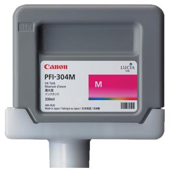 Картридж (PFI-304M) Magenta картридж magenta pfi 701m пурпурный пигментный