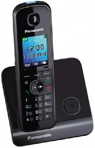 KX-TG8151RUB радиотелефон panasonic kx tg8551 черный kx tg 8551 rub
