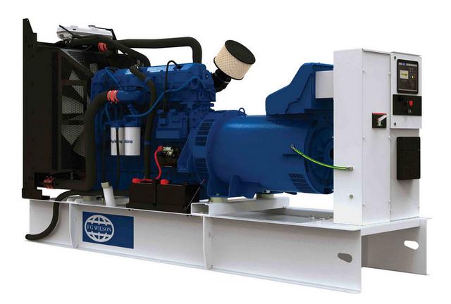Дизельный генератор_FG WILSON P400-1 откр.Максимальная мощность 320 кВт <br>Номинальная мощность 280 кВт <br>Двигатель Perkins  <br>Напряжение 380 В <br>Емкость топливного бака 888 л <br>Количество оборотов 1500 об/мин <br>Время непрерывной работы 8 ч <br>Расход топлива 41.0/79 л/ч <br>Топливо Дизель  <br>Исполнение...<br>