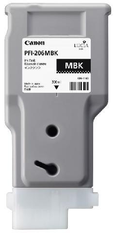 Картридж Canon Matte black PFI-206MBK (матовый черный) canon pfi 206 mbk matte black