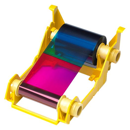 Полноцветная лента   YMCKOO DuraSecure с чистящим роликом 800033-344