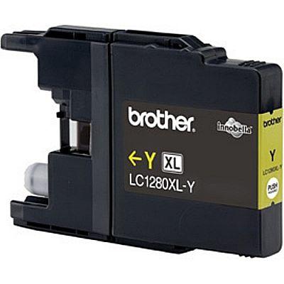 Картридж Brother LC1280XLY картридж brother lc1280xly желтый
