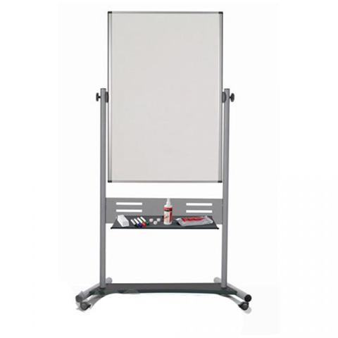 Магнитно-маркерная доска BI-OFFICE вертикальная 90x120 (QR6003GR)