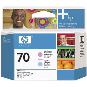 Печатающая головка HP Print Head №70 Light Magenta & Light Cyan (Z2100/Z3100) (C9405A)