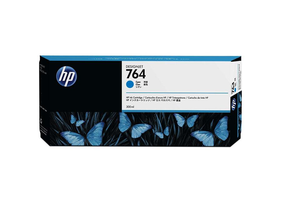 HP DesignJet 764 Cyan 300 мл (C1Q13A) картридж hp 728 f9k17a cyan 300 мл
