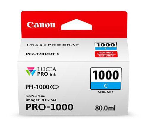 Картридж Canon PFI-1000 C (голубой)