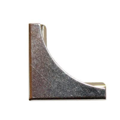 Уголок 19 мм 3/4 Square corner Q MOON, 4.5 мм (серебро) душевой трап pestan square 3 150 мм 13000007