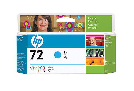 Картридж HP Pigment Ink Cartridge №72 Cyan (C9371A) картридж hp pigment ink cartridge 727 cyan b3p19a