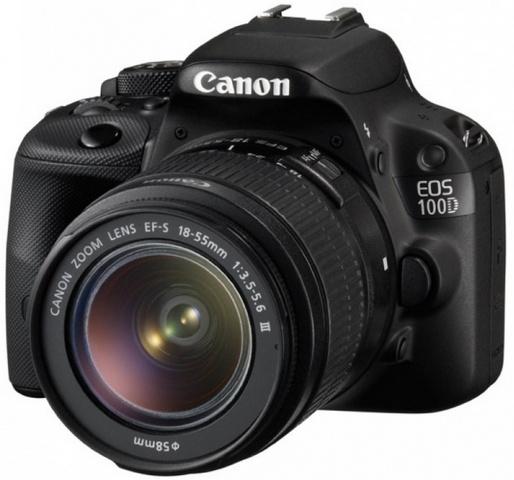 Canon EOS 100D Kit 18-55 DC III canon eos 50d kit ef s 18 200