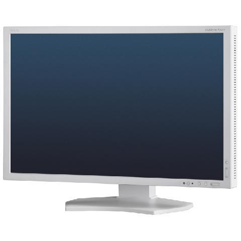 Монитор_23 NEC MultiSync P232W silver/white