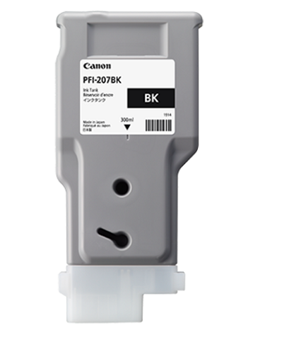 PFI-207BK Black 330 мл (8789B001) картридж canon pfi 207bk 8789b001