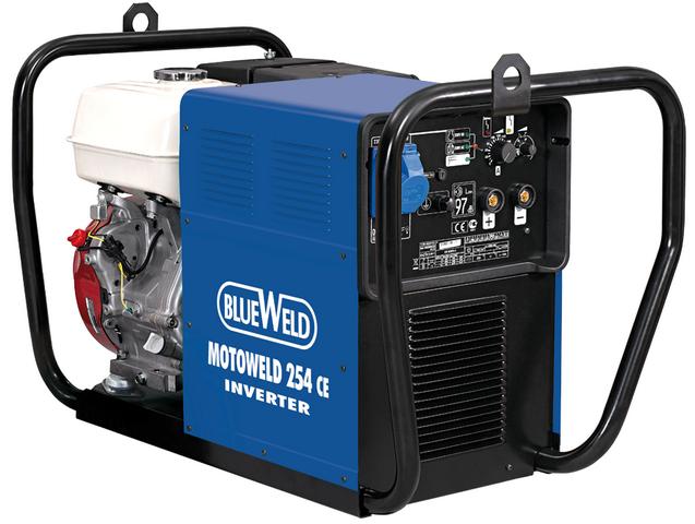 Купить Сварочный генератор BlueWeld Motoweld 254 CE в официальном интернет-магазине оргтехники, банковского и полиграфического оборудования. Выгодные цены на широкий ассортимент оргтехники, банковского оборудования и полиграфического оборудования. Быстрая доставка по всей стране
