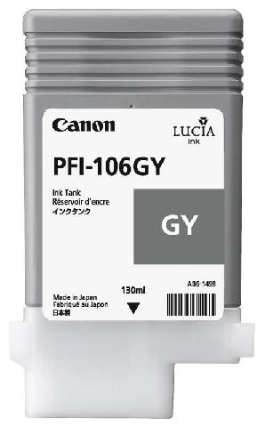 Картридж Canon (PFI-106GY) Grey
