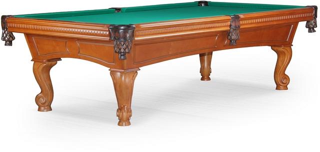Бильярдный стол_Американский пул Cambridge (8 футов, корица)