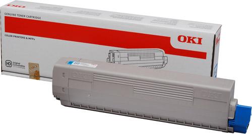 Тонер-картридж TONER-C-C831/841/C831DM-10K (44844507)