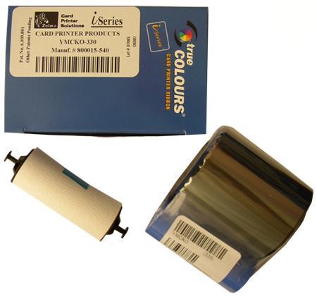 Полноцветная лента YMCKO 800015-540 полноцветная лента ymcko r5f008eaa