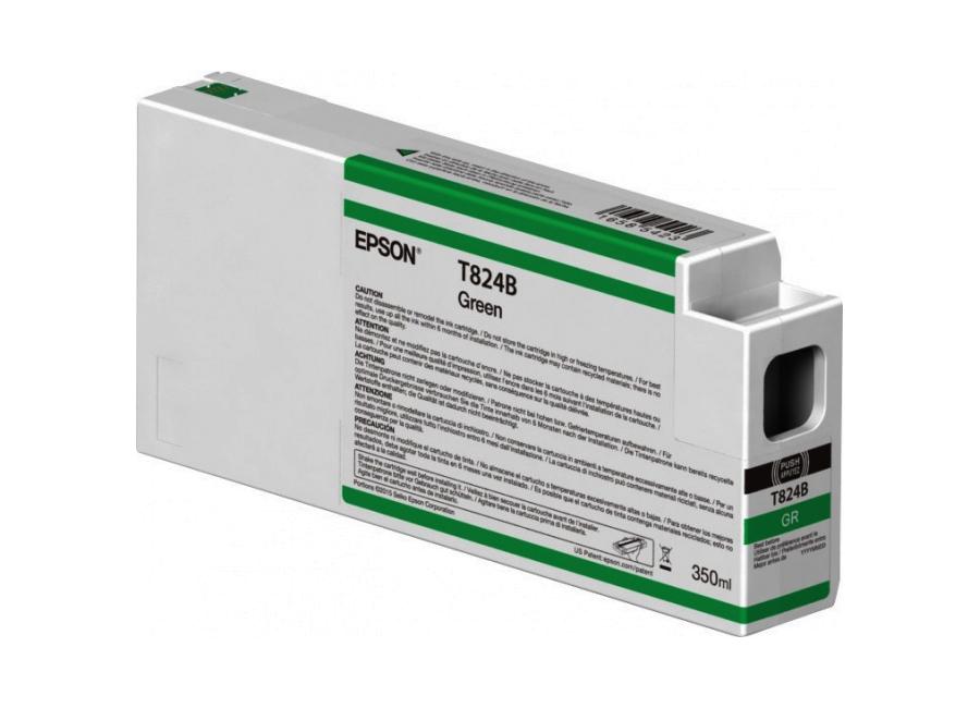Картридж с зелеными чернилами T824B (C13T824B00) принтер epson surecolor sc p9000 std c11ce40301a0