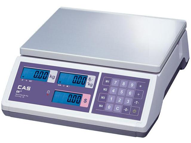 Торговые весы CAS ER JR-06CB