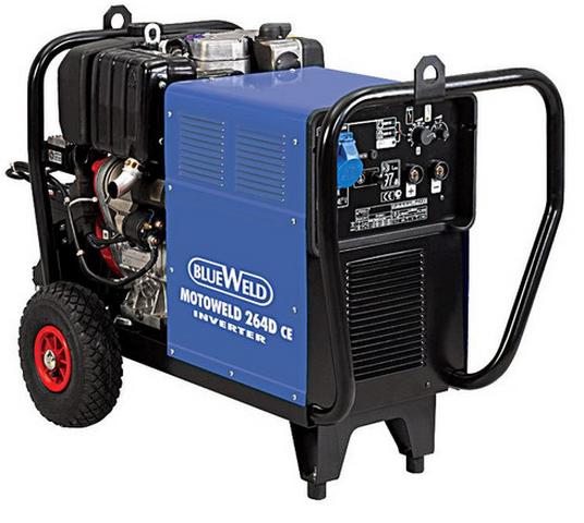 BlueWeld Motoweld 264 D/CE ручные сварочные клещи blueweld plus 230 823226