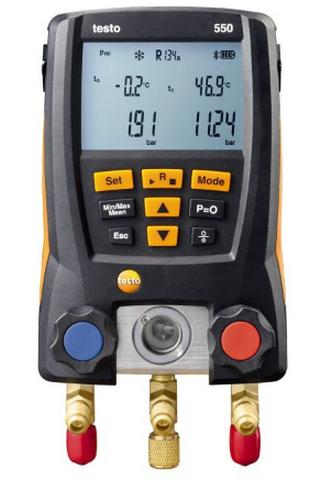 Коллектор цифровой манометрический Testo 550 с Bluetooth  газоанализатор testo 315 3 без bluetooth