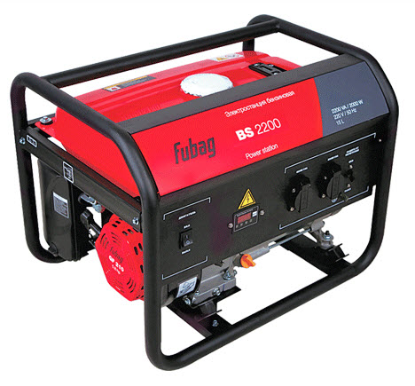 Fubag BS 2200 бензиновый генератор fubag bs 2200