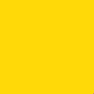 Пленка для термопереноса на ткань   золотисто-желтая 503