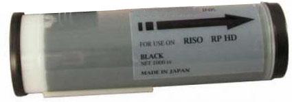 Краска черная RP HD 3700, 1000 мл,
