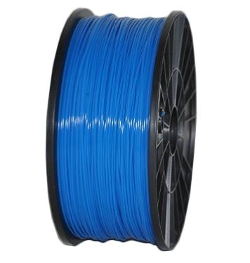 Пластик PLA синий