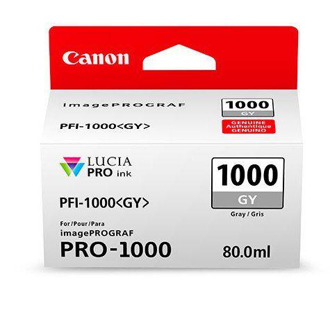 Картридж Canon PFI-1000 PGY (фото серый)